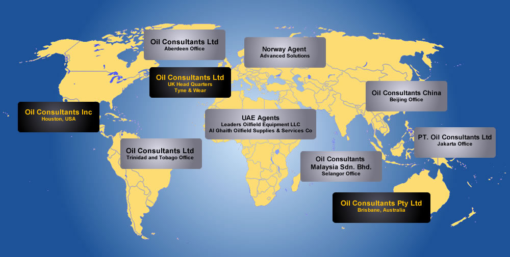 Oil Consultants Office Locations